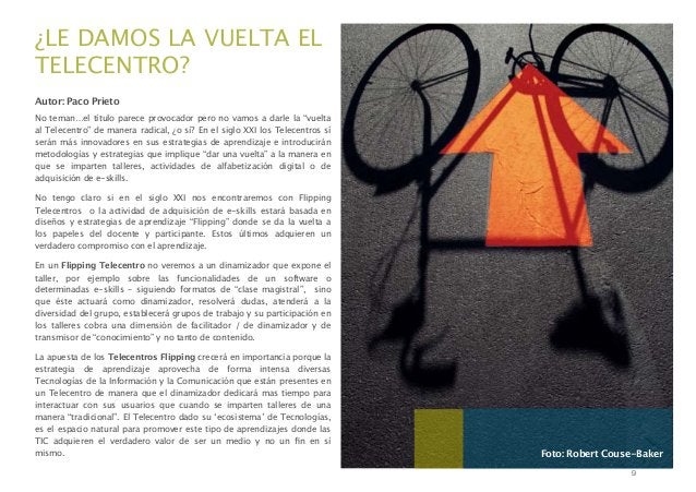 """¿LE DAMOS LA VUELTA EL TELECENTRO? Autor: Paco Prieto No teman…el título parece provocador pero no vamos a darle la """"vuelt..."""