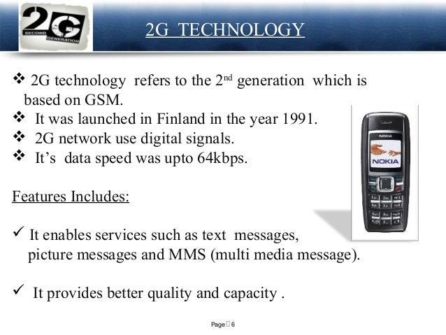 1g 2g 3g 4g 5g Best Topic For Telecom Presentation