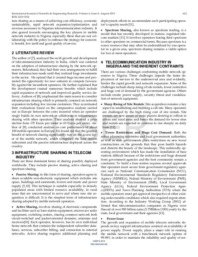 literature review on service quality in telecommunication