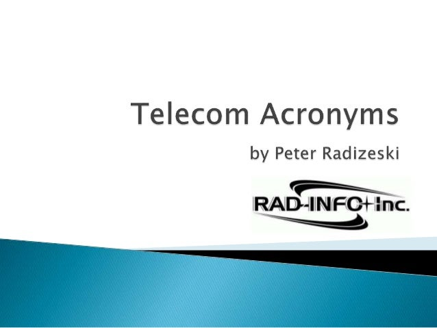 Incumbent Local Exchange Carrier  AT&T and Verizon  Regulated monopoly, common carrier obligations  Carrier of Last Res...