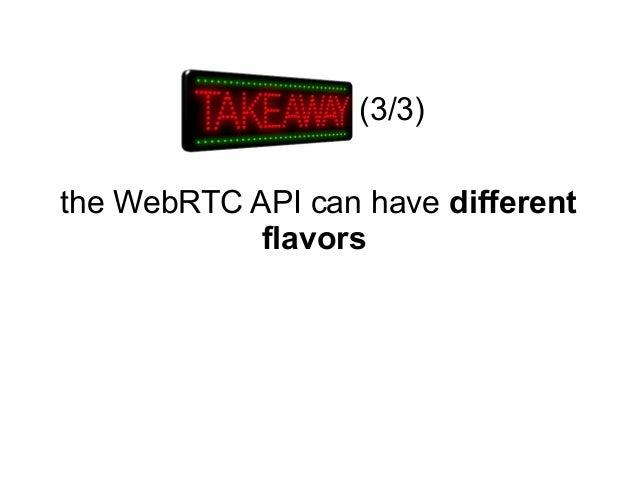 WebRTC standards update (13 Nov 2013)
