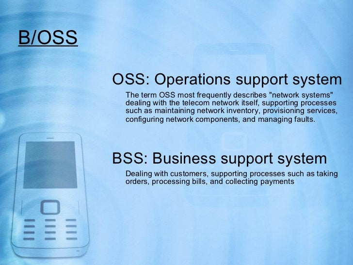 Telecom Bss