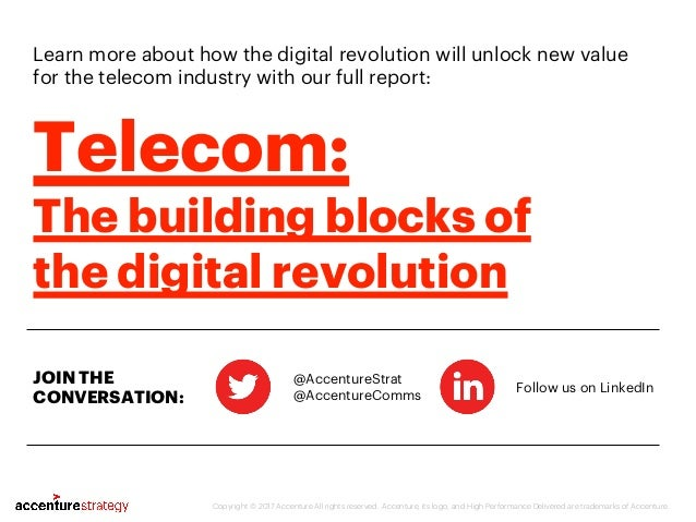 Learn more about how the digital revolution will unlock new value for the telecom industry with our full report: @Accentur...