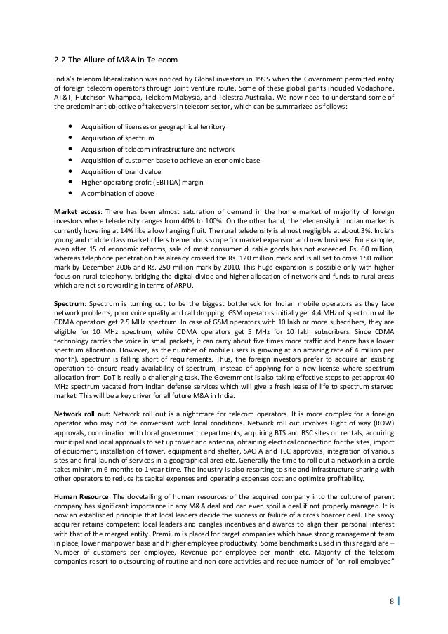 overview of telecommunication industry essay A telecommunications network is a collection of terminal nodes, links are  connected so as to  this article is written like a personal reflection or opinion  essay that states a wikipedia editor's personal feelings about a topic please help  improve.