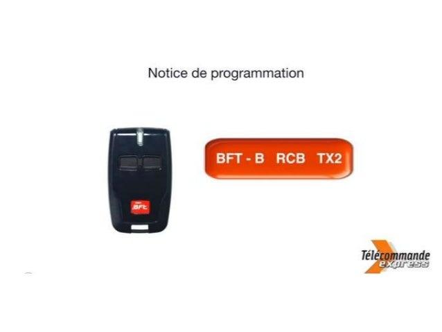 Retrouvez la télécommande Bft qu'il vous faut sur telecommande-express.com