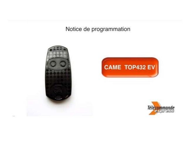 Retrouvez la télécommande Came qu'il vous faut sur telecommande-express.com