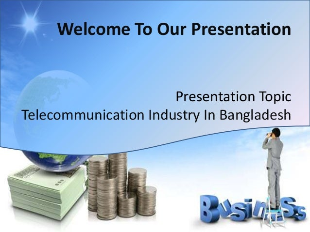 telecommunication industry of bangladesh, Powerpoint templates