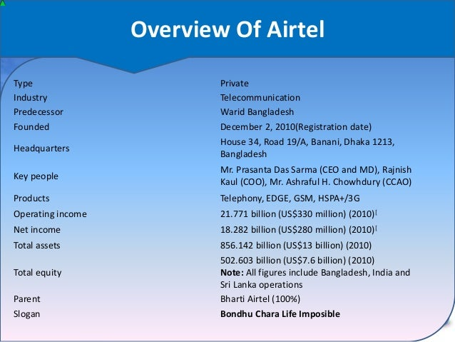 """industry profile airtel Bharti airtel's takeover of tata teleservices' consumer mobile business  """"we  believe bharti is committed to maintaining its credit profile and will  like many  industry analysts, s&p too believes that the deal will help reduce."""