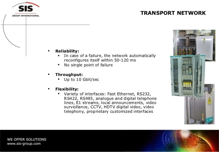 Telecommunication Networks For Railways