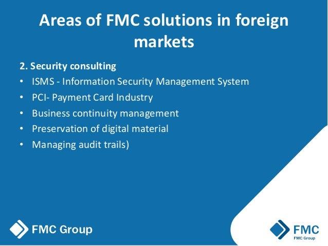 Telecommunication solutions, Fmc Dec 2016