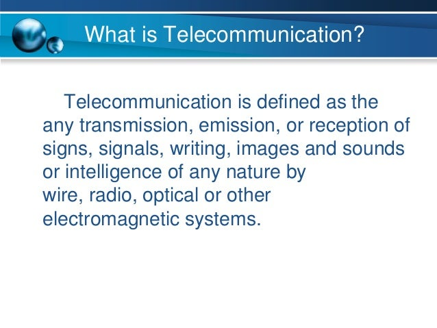 Telecommunications In Healthcare