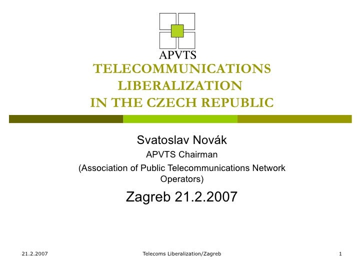 dissertation telecommunications liberalization The public's interest in telecom reform: post-reform performance of the mexican telecom sector dissertation presented in partial fulfillment of the requirements for the degree of doctor of philosophy in the graduate  privatization, market liberalization, and regulatory reform in the mexican telecommunication system in d j ryan (ed),.