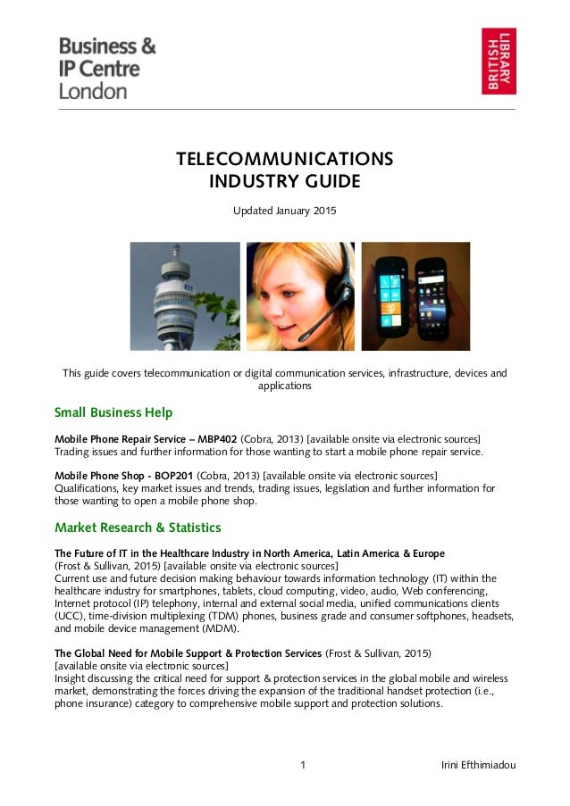 an examination of the telecommunications industry Telecommunications technician trainee 7500-6912 telecommunications division, and industry through the classes of telecommunications technician trainee.