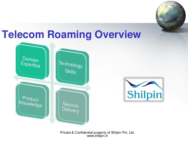 Telecom Roaming Overview  Private & Confidential property of Shilpin Pvt. Ltd. www.shilpin.in