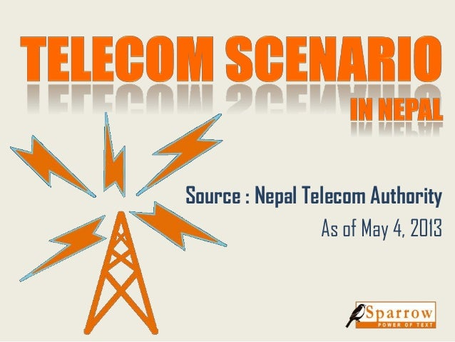 Source : Nepal Telecom Authority As of May 4, 2013