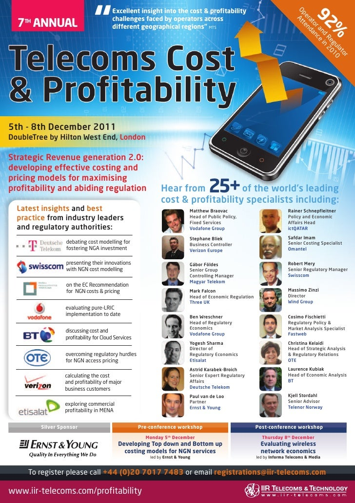 Telecoms Cost  Profitability 2011