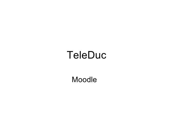 TeleDuc Moodle