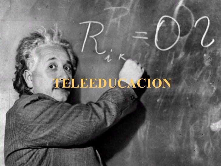 TELEEDUCACION
