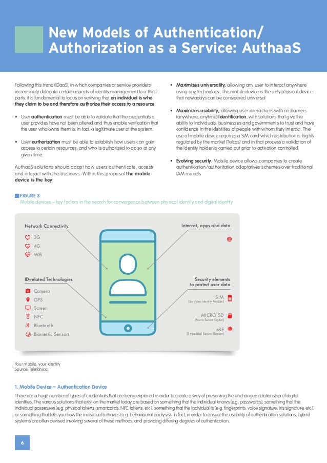 6 New Models of Authentication/ Authorization as a Service: AuthaaS Following this trend (IDaaS), in which companies or se...