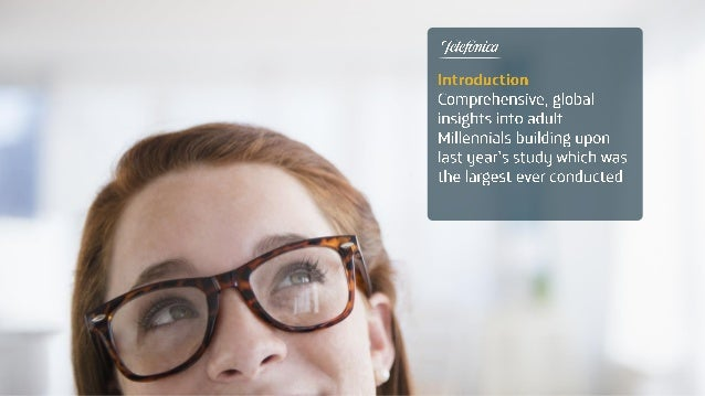 Telefonica Global Millennial Survey - 2014 global results presentation Slide 3