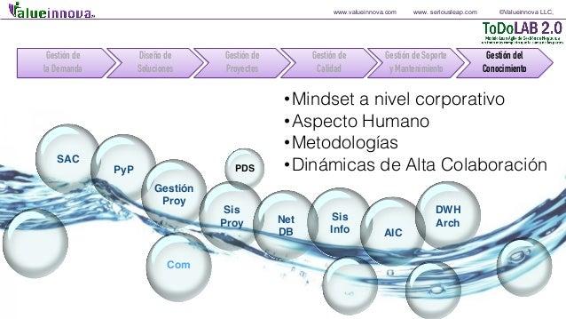 www.valueinnova.com www. seriousleap.com ©Valueinnova LLC, SAC PyP Gestión Proy Sis Proy Sis Info Net DB AIC Com DWH Arch ...
