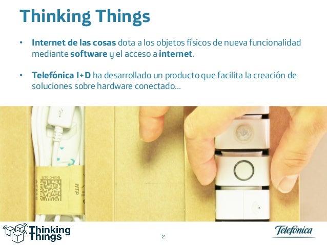 Telefonica Thinking Things 21 10-2014 Slide 2
