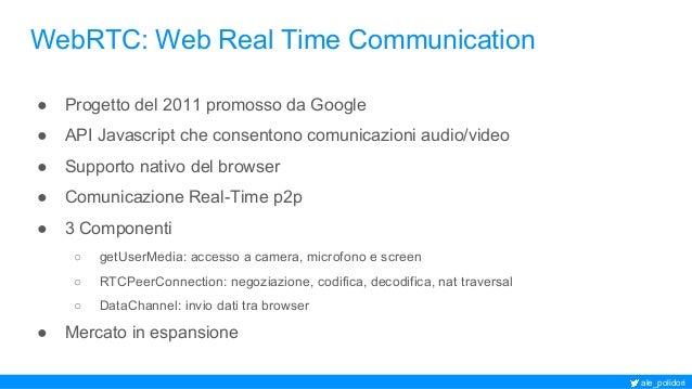 Telefono SIP WebRTC nel tuo browser: da sipML5 a Janus Slide 2