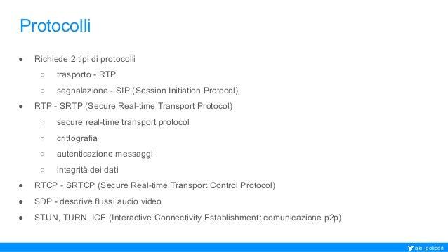 Telefono SIP WebRTC nel tuo browser: da sipML5 a Janus Slide 3