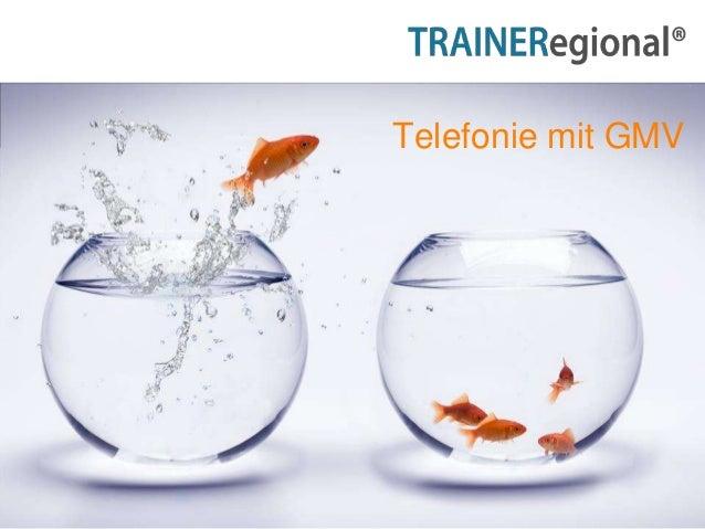 1 Telefonie mit GMV