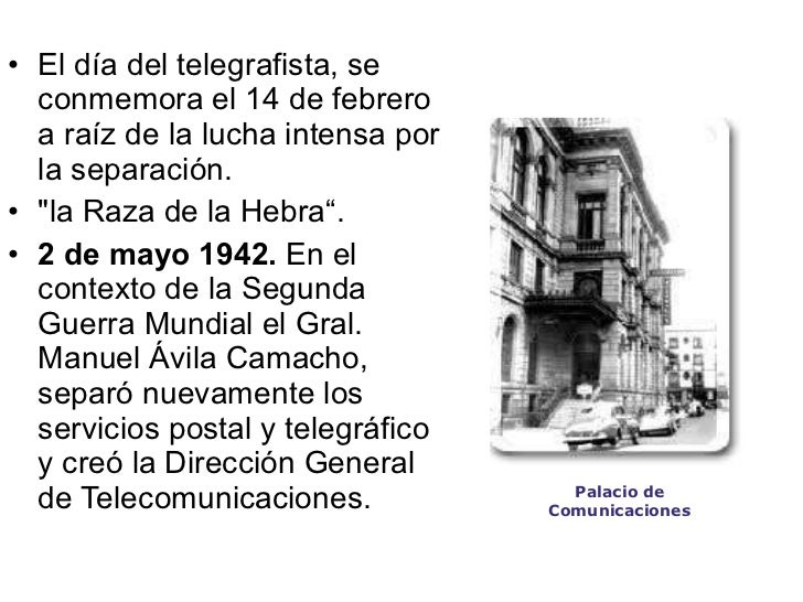 Telegrafo en México