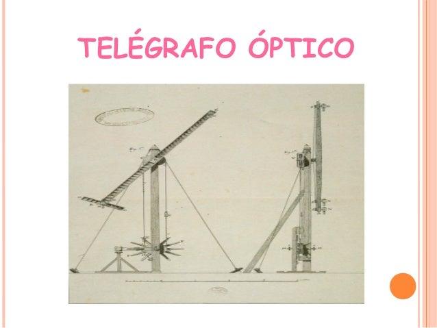 TELÉGRAFO ÓPTICO