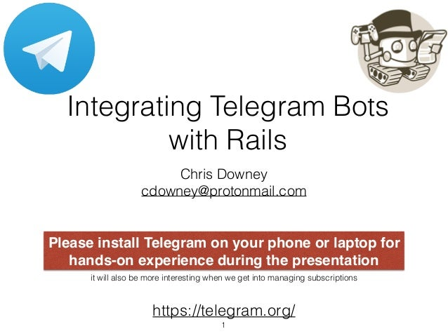 Integrating Telegram Bots with Ruby on Rails