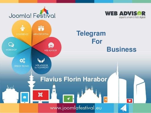 Telegram For Business Flavius Florin Harabor