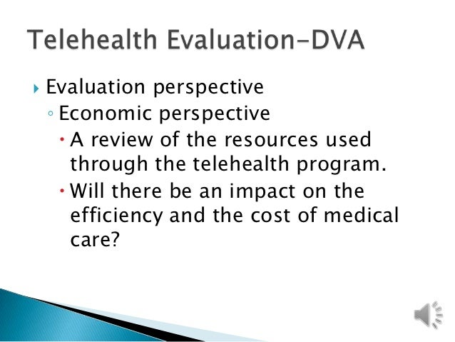 impact evaluation of telehealth on patients health essay We specifically included studies that investigated the impact of telehealth on either a clinical outcome (eg, hospitalization), patient-reported outcome (including self-reported physical or mental status) or experience measure, or surrogate measurement (eg, blood pressure) or esrd process measure (defined as a deliberate action to follow a process intended to provide quality care.