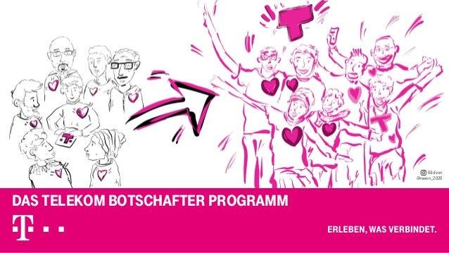 Das Telekom Botschafter Programm Bild von @reeen_2020