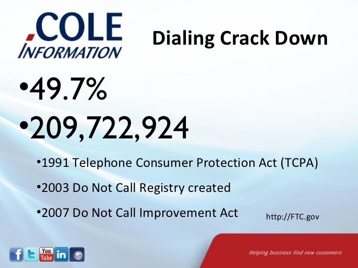 Telephone Consumer Protection Act of 1991