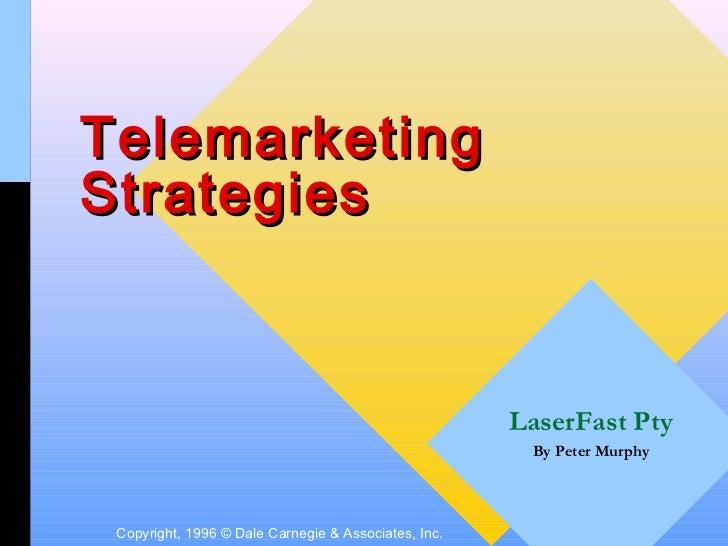 TelemarketingStrategies                                                      LaserFast Pty                                ...