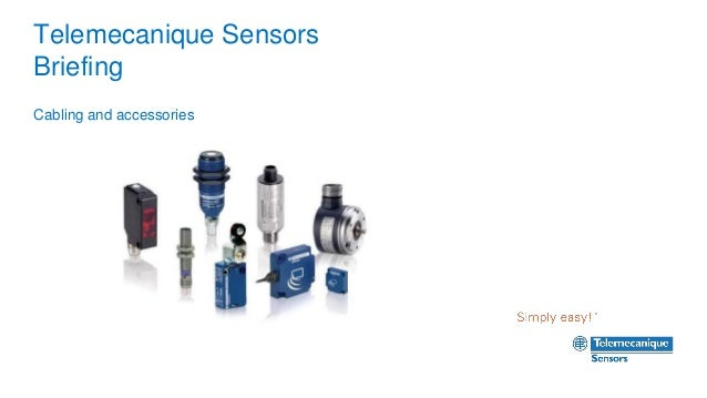 Telemecanique Sensors Briefing Cabling and accessories