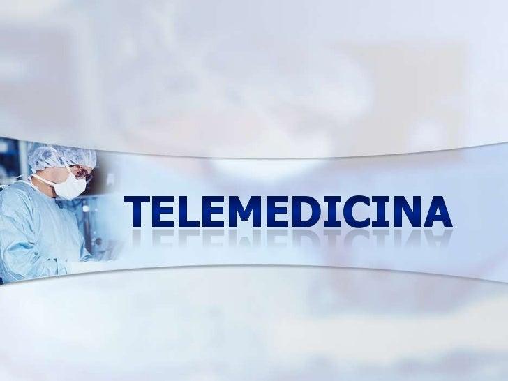 Definición!Se define como telemedicina ó eSalud la prestación de serviciosde medicina a distancia. Para su implementación...