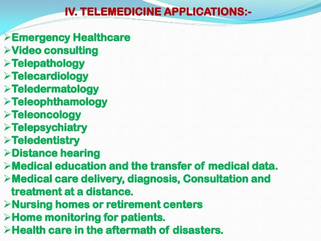 Telemedicine program essay