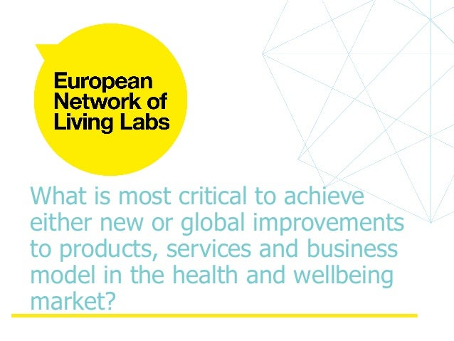 The Role Of The Living Labs Co Design To Improve Product Developmen