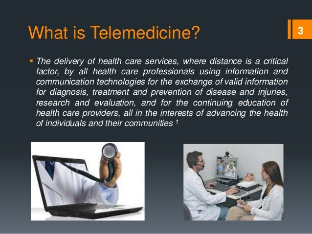 an analysis of telemedicine the future in health care Telemedicine is a way to deliver healthcare remotely, said dr fran cogen, wit the children's national health system, what that really means is the ability to speak to a person or a family that may be very very far away and provide care or medication or consultation through a secure pathway.