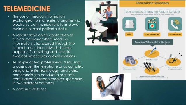 Telemedicine: safety and security Slide 3