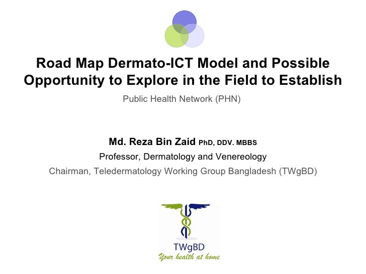 Road Map Dermato-ICT Model and PossibleOpportunity to Explore in the Field to Establish                  Public Health Net...