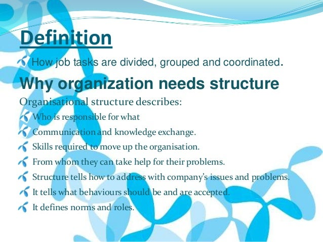 organizational structure of mobilink Mobilink management report organization structure and applied in the organization nationwide• mobilink has a friendly.