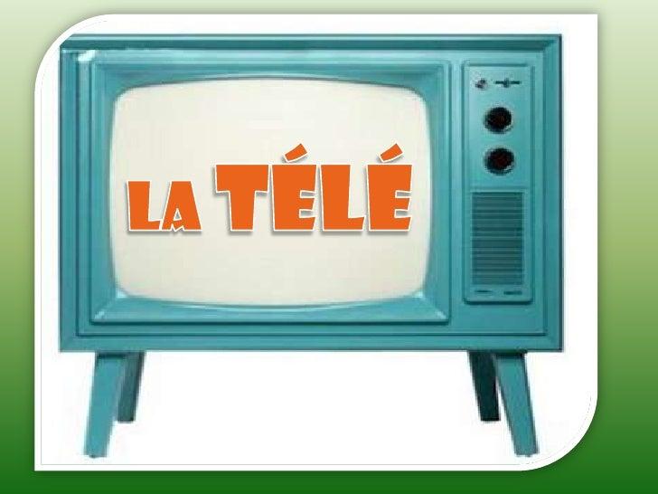 DÉFINITION ET AUTRES DONÉES:   La télévision ou télé est un système de télécommunications pour la transmission et la récep...