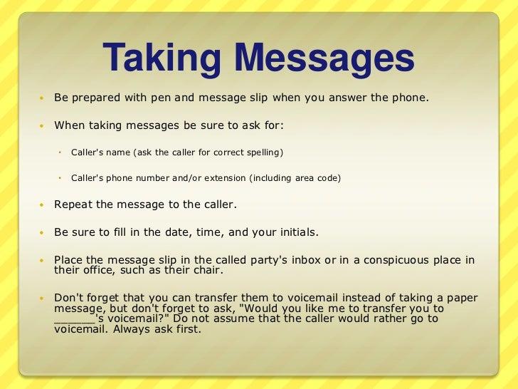 Practice telephone etiquette confidence 14 m4hsunfo
