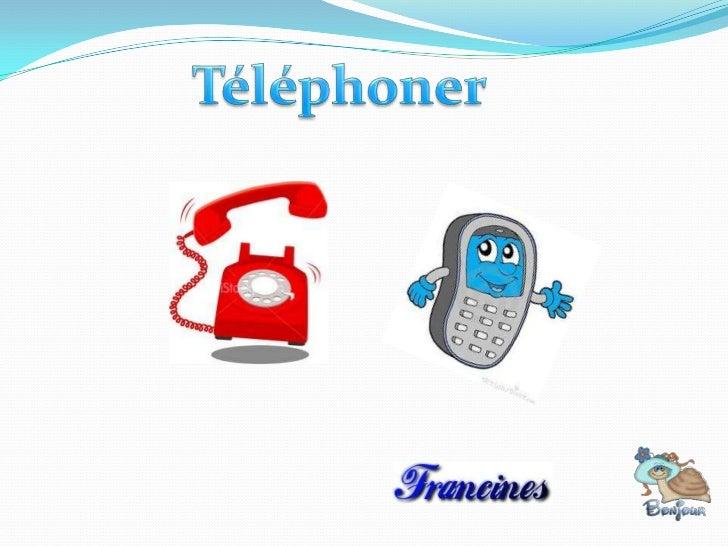 Savoir lire un numéro de téléphoneEn France, on prononce les numéros de téléphonedeux par deux .Ex. 04 74 57 38 22 = zéro ...