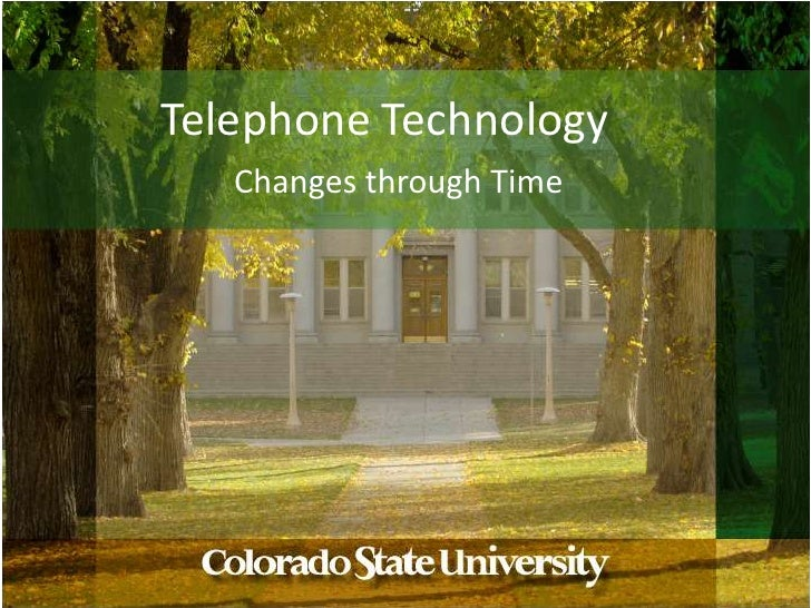 Telephone Technology<br />Changes through Time<br />