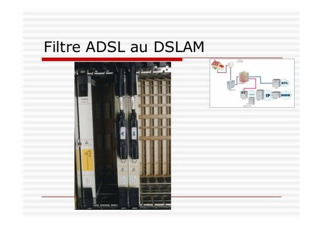 Filtre ADSL au DSLAM